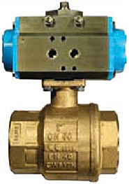 Series 8P Pneumatic Ball Valves