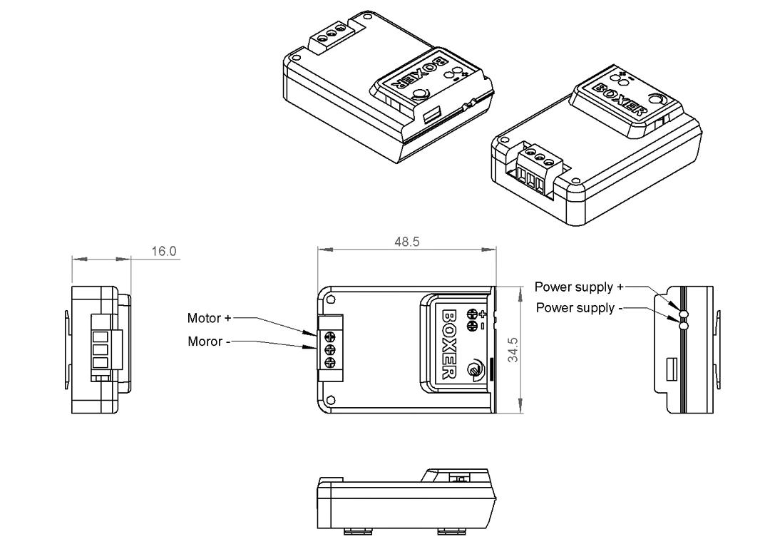 pulse width modulation flow controller model dc 3k pwm