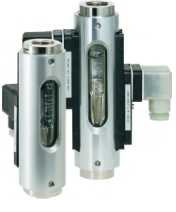 Variable Area Flow Meters & Switches Model DS03