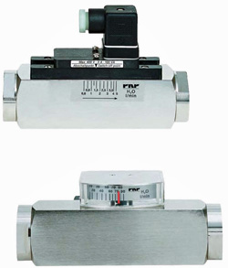 Variable Area Flow Meters & Switches Model DS06