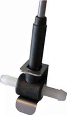 Disposable Turbine Flow Sensor PVDF