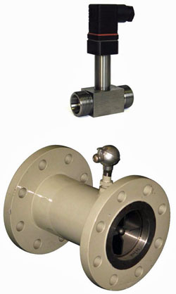 Turbine Flow Transmitter Model DR12